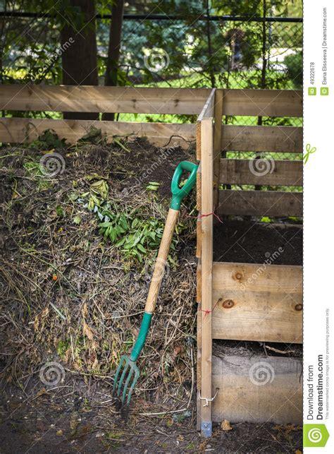 backyard composters backyard compost bins stock photo image 49322678