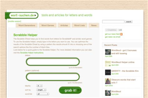 word grabber scrabble helper sneak preview of the new layout word grabber make