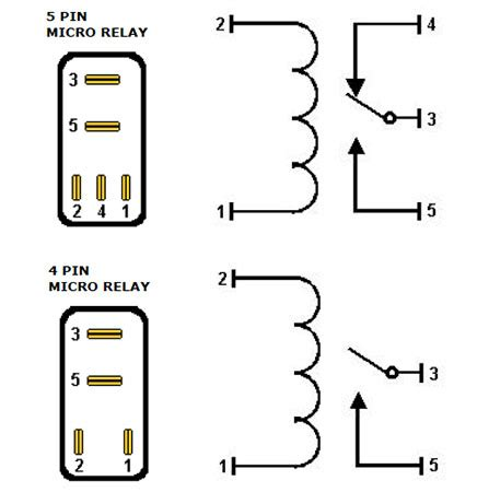 micro relay wiring diagram wiring diagram with description