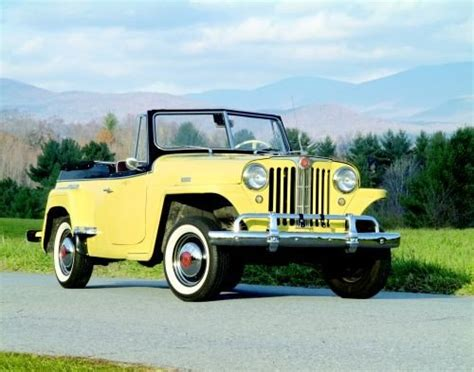 1948 willys jeepster 1948 51 willys jeepster the inexpensive open top