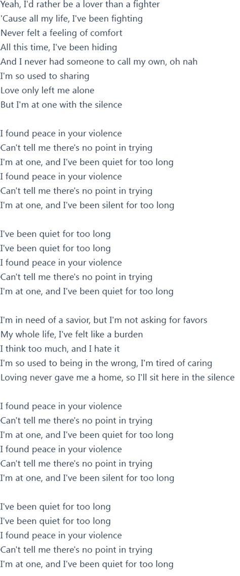 silent lyrics will marshmello silence ft khalid lyrics official