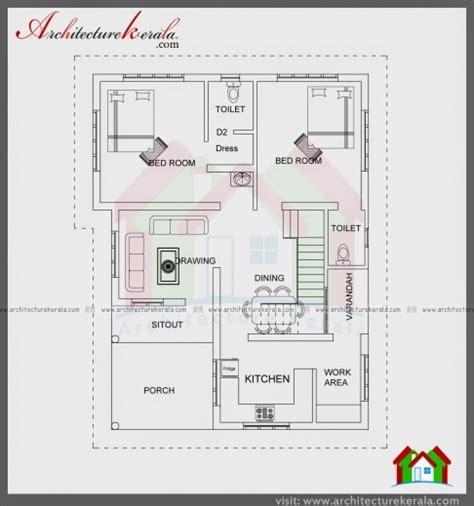 1100 sq ft 1100 sq ft house plans in kerala house plan ideas
