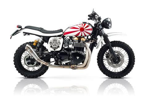 Scrambler Motorrad by Tamarit Quot Ronin Quot Triumph Scrambler