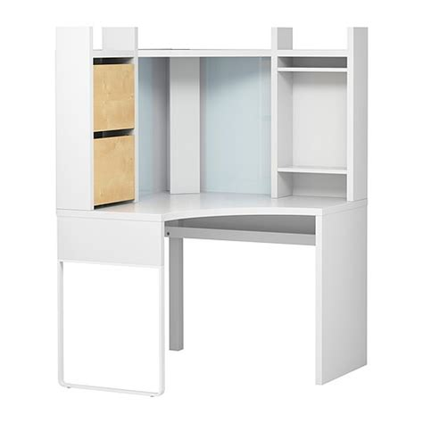 Ikea White Corner Desk Ikea Micke Corner Study Desk Sold Movingoutlelong
