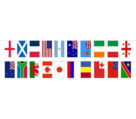 flags of the world bunting world cloth flag bunting 20 flags 15m