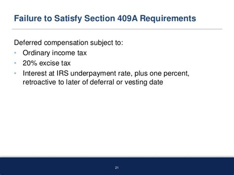 irs section 409a business law order september 16 2013 what you don t