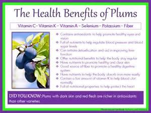 health benefits health benefits plums