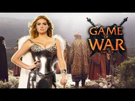 Game Of War Live Action Trailer With Kate Upton Youtube | game of war live action trailer ft kate upton who i