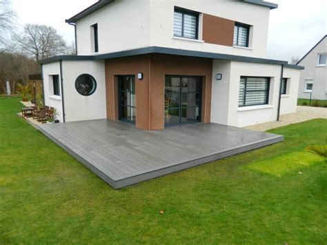 les terrasse bois moderne brest par garden concepts - Moderne Pflanzgefäße Terrasse