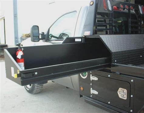 custom truck tool boxes for flatbeds geneva welding and supply geneva trailer sales