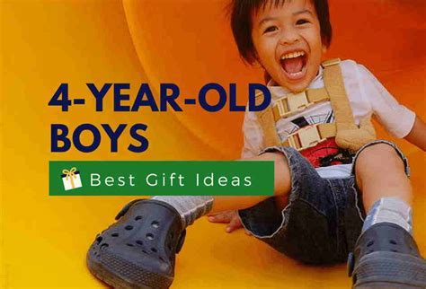 Best Gifts For a 4 Year Old Boy   Fun & Educational