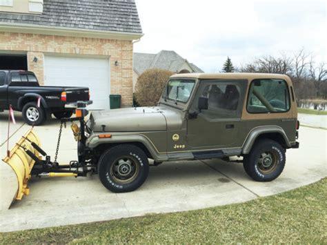1989 jeep wrangler engine 1989 jeep wrangler yj 4x4 4 2l inline 6 cylinder