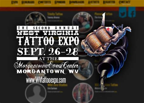 tattoo convention huntington wv west virginia tattoo expo stick tattoo co morgantown