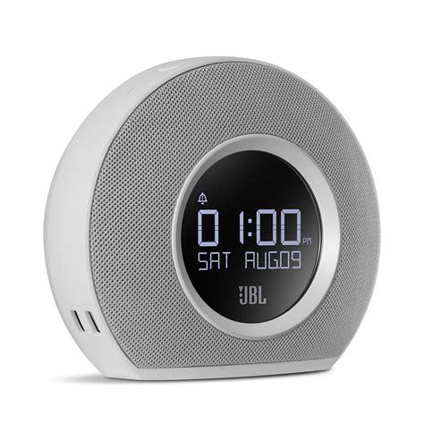 speaker jbl hirizon jbl horizon bluetooth clock radio with usb charging and