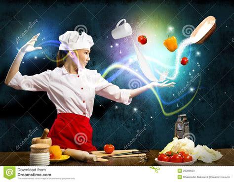 la magia en accion 847808228x magia en la cocina imagen de archivo imagen de l 237 nea 28386653