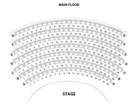 chicago theater floor plan top 24 chicago theater seating chart main floor