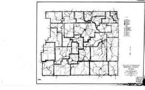 newton county map newton county arkansas genealogy census vital records