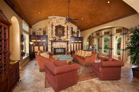 Mexican Decorating Ideas For Home by Tuscan Style Home By Jim Boles Custom Homes