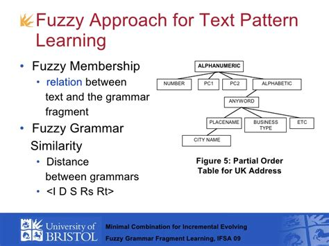 pattern classification based on fuzzy relations incremental evolving grammar fragments