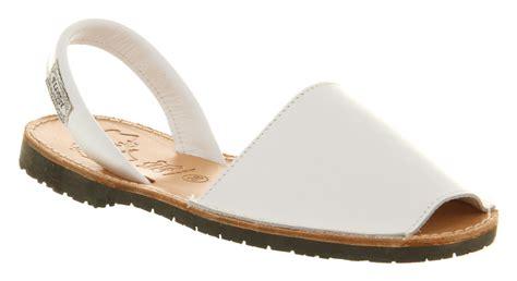 womens flossy majorca sandal white leather sandals ebay