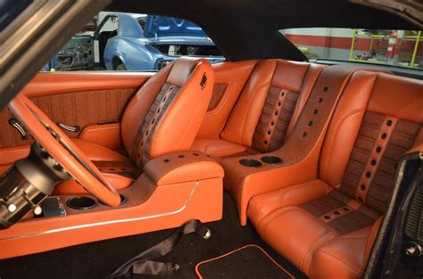 Orange Auto Upholstery by 435 Best Images About Kustom Auto Interiors On