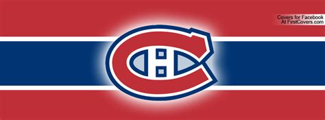 montreal canadiens facebook cover profile cover  firstcoverscom