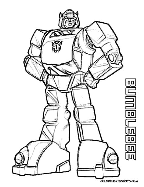 Bumblebee Transformers Coloring Pages Gt Gt Disney Coloring Pages Transformer Color Pages