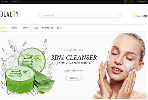 shopify themes beauty 15 best selling shopify themes on themeforest 2017