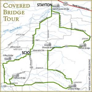covered bridges oregon map covered bridge tour stayton sublimity chamber of commerce