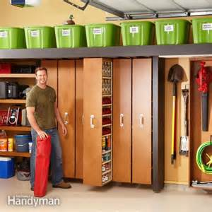 how to make sliding shelves 15 smart diy garage storage and organization ideas home