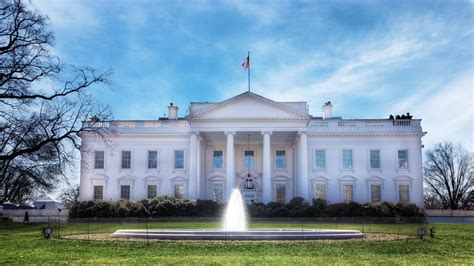 where is the white house the white house