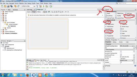 cara membuat uml di netbeans cara membuat form login di netbeans menggunakan database