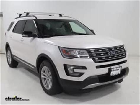 Ford Explorer Roof Rack by Thule Roof Rack For Ford Flex 2014 Etrailer