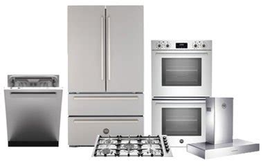 kitchen appliance packages stainless steel bertazzoni 5 piece stainless steel kitchen appliance