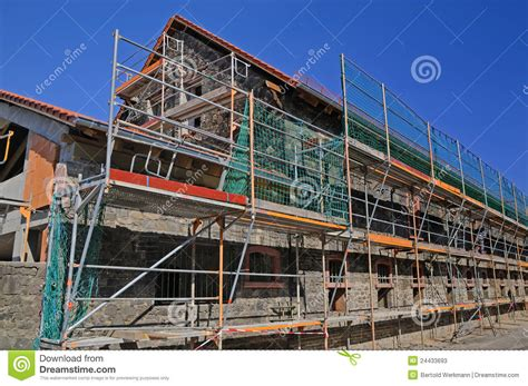 house renovation insurance dwelling house renovation stock photos image 24433693