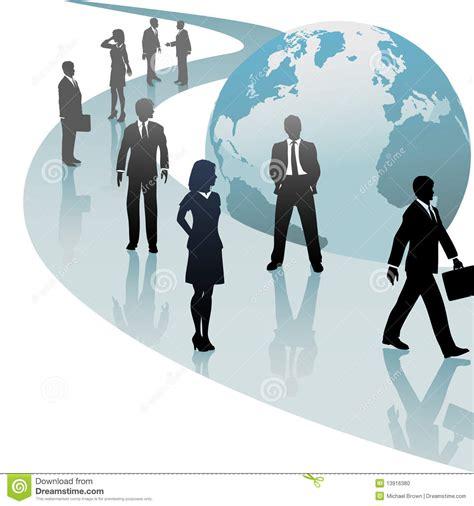 imagenes libres negocios hombres de negocios en el progreso futuro del camino del