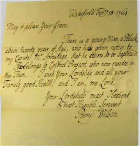 Parent Consent Letter For Baptism Baptisms Of Black Servants Slaves Borthwick Institute For Archives The Of York