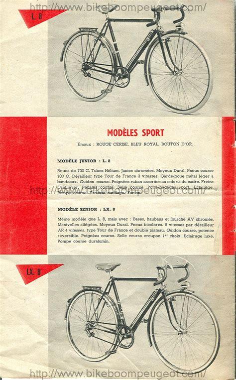 Peugeot 1958 France Brochure