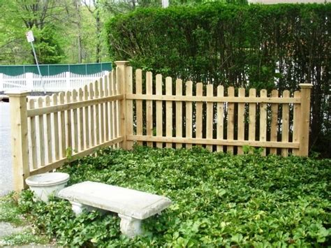 fencing sections tapered wood picket fence sections wood fence
