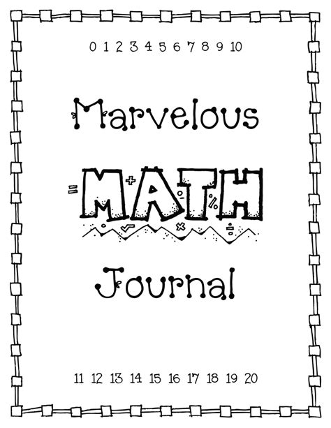 printable science journal cover 6 best images of science journal printable cover kids