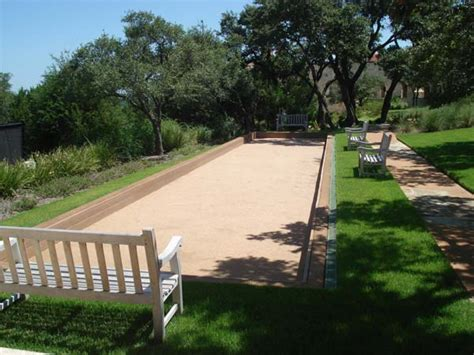 bocce ball field dimensions court photos construction