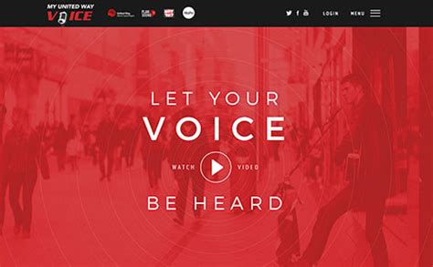 let s go gling the vital voice 22 fresh and bold exles of website designs