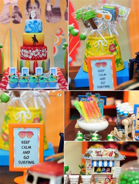 beach themed party kit 126 best surf theme party images on pinterest birthday