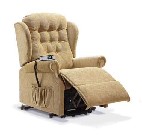 Sherborne Upholstery by Lynton Standard Fabric Lift Rise Recliner Sherborne