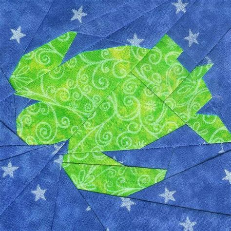 Turtle Quilt Pattern Free by Sea Turtle By Ofenstein Sewhooked Via