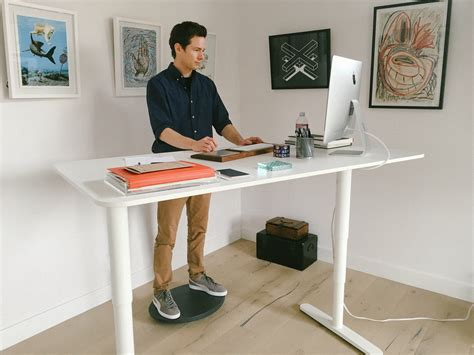 raised desk for standing 3m fr330 desk ergonomic adjustable rest grey