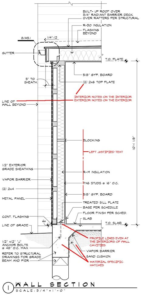 Wall Section Drawings 28 Images Hurricane Construction