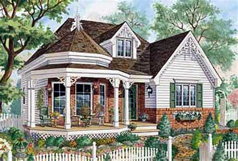 one level victorian home plan 80703pm architectural