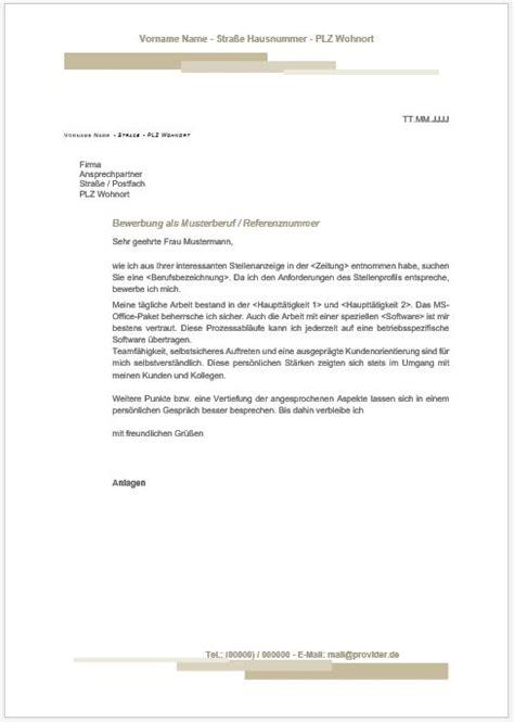 Anschreiben Bewerbung Ausbildungsplatz Versicherungskaufmann bewerbungsschreiben vorlage
