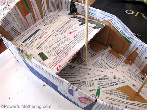 how to make a paper cruise boat diy pirate ship